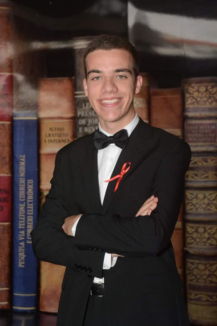 Libório Aguiar, ex-aluno do Curso Técnico de Gestão (Triénio 2014-2017)