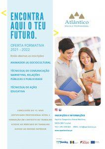 OFERTA EDUCATIVA E  FORMATIVA – ANO LETIVO 2021 / 2022